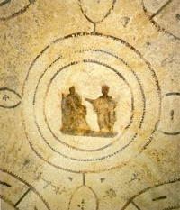 Icon of the Annunciation, Catacomb of Priscilla