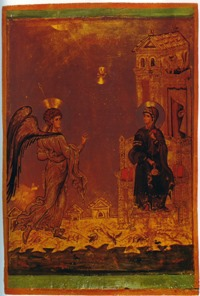Icon of the Annunciation, Monastery of St Catherine, Sinai