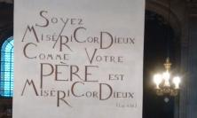 Inscription in the Church of Saint-Sulpice, Paris